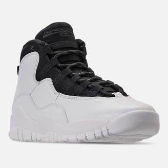 Nike Kids' Grade School Air Jordan Retro 10 Basketball Shoes