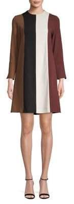 Marella Basco Colourblock A-Line Dress