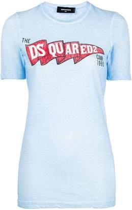 DSQUARED2 boy scout logo T-shirt