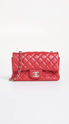 Chanel What Goes Around Comes Around Pink Half Flap Small Bag