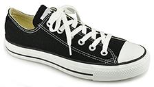Converse Women's - Chuck Taylor Lace - Black Canvas Sneaker