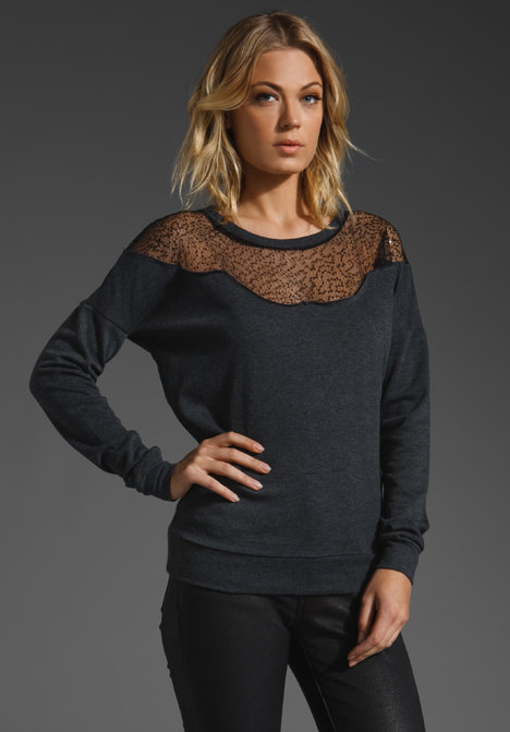 Jack by BB Dakota Mignon French Terry with Sequins Sweater