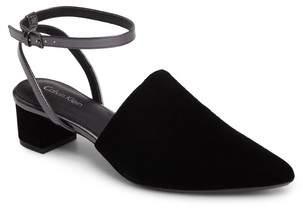 Calvin Klein Ginetta Ankle Strap Pump