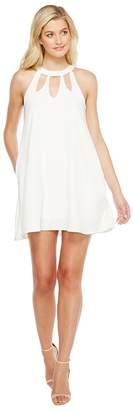 Brigitte Bailey Ashly High Neck Cut Out Dress Women's Dress