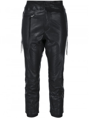 Haider Ackermann leather trousers $2,220 thestylecure.com