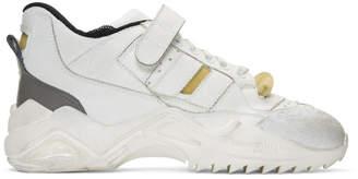 Maison Margiela White Retro-Fit Future Sneakers