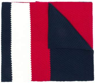 Tommy Hilfiger ribbed scarf