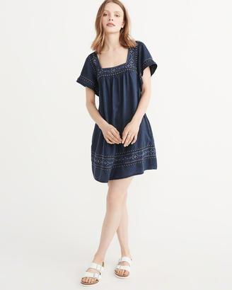 Flutter Sleeve Dress $68 thestylecure.com