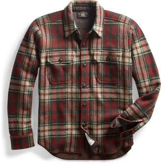 Ralph Lauren Plaid Knit Overshirt