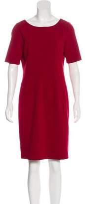Lafayette 148 Short-Sleeve Knee-Length Dress
