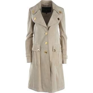 Burberry Beige Suede Coats