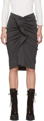Etoile Isabel Marant Grey Joca Jersey Skirt