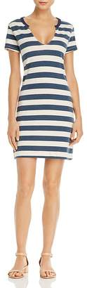 PAM & GELA Stripe Knit Dress $145 thestylecure.com