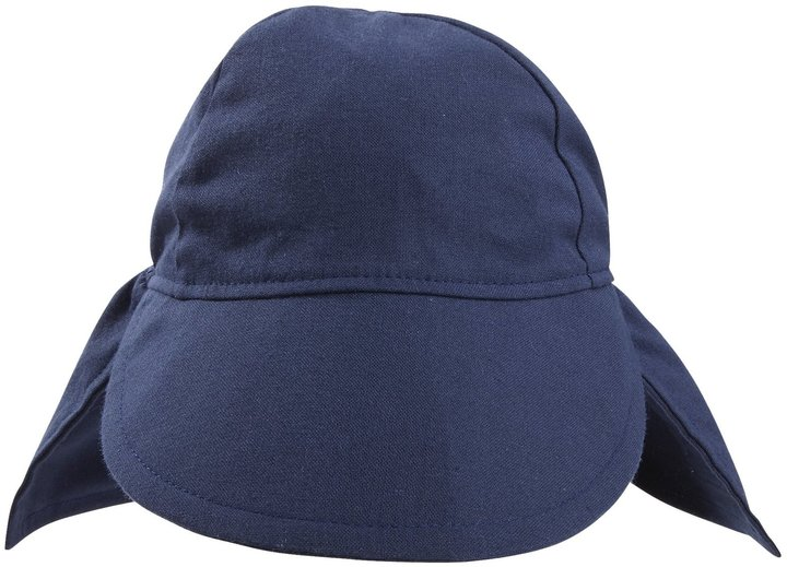 Flap Happy Original Flap Hat Cotton UPF 50+ - Navy - Extra-Large