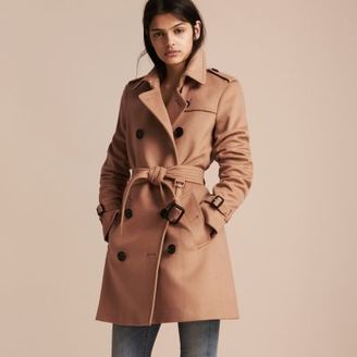 Burberry Wool Cashmere Trench Coat $1,795 thestylecure.com