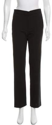 6397 Mid-Rise Straight-Leg Pants