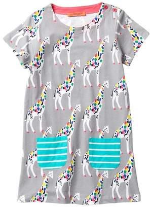 Funkyberry Giraffe Dress (Toddler, Little Girls, & Big Girls)