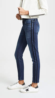 7 For All Mankind The Ankle Skinny with Tux Stripes