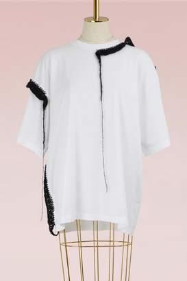 Maison Margiela T-shirt with crochet details