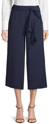 Max Studio Women's Knotted Wide-Leg Pants