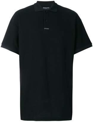 Balenciaga short sleeve polo shirt