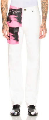 Calvin Klein High Rise Straight Pant