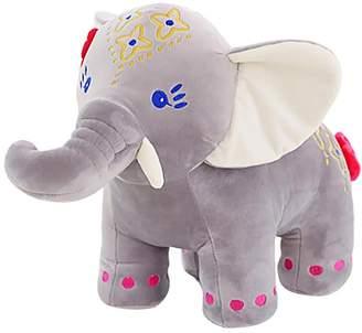 "KateDy 11.8"" Cute Elephant Doll Plush Toy Doll Stuffed Animals Toy Soft Stuffed Elephant Baby Birthday Gift Furniture Decoration(1pc,)"