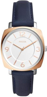 Fossil Men's Blakely Leather Strap Watch, 36mm