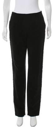 Guy Laroche Mid-Rise Straight-Leg Pants