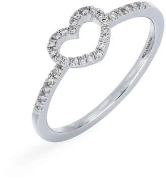Carriere JEWELRY Open Heart Diamond Ring