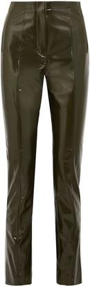 Acne Studios High-rise Vinyl Skinny-leg Pants