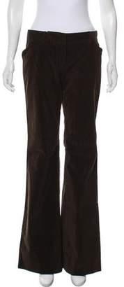 Miu Miu Mid-Rise Pants