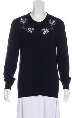 Dolce & Gabbana Cashmere-Blend Appliqué Cardigan