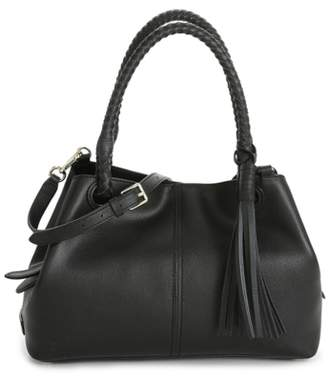 Cole Haan Tassel Leather Shoulder Bag