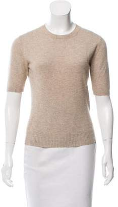 Loro Piana Short Sleeve Cashmere Sweater