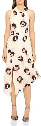 Reiss Roya Printed Chiffon Dress