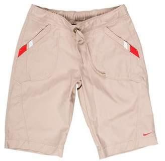 Nike Mid-Rise Knee-Length Shorts