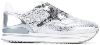 Hogan metallic sneakers