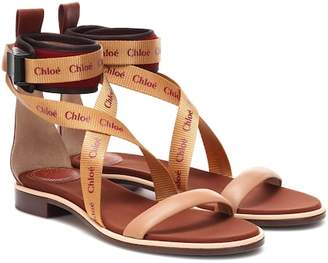 Chloé (クロエ) - Chloé Veronica leather sandals