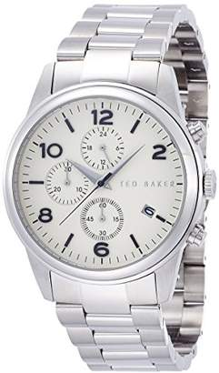 Ted Baker Men's TE3059 Round Stainless Steel Watch