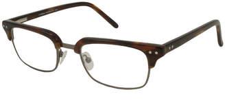 Leonardo V OPTIQUE V Optique RX Eyeglasses Frame Only WithDemo Lenses