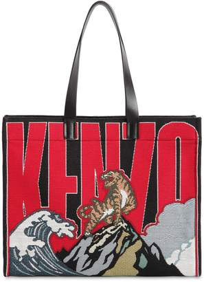 e848af70 Kenzo Leather Tote Bags - ShopStyle