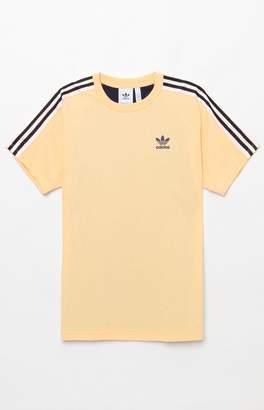adidas B Sides Trefoil Yellow T-Shirt