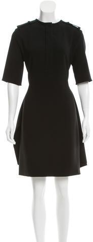 CelineCéline Tie-Accent Knee-Length Dress