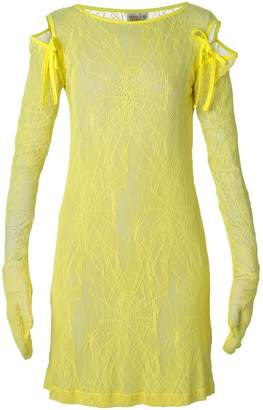 Walter Van Beirendonck Pre-Owned 'Fetish for Beauty' lace dress