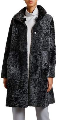 Giorgio Armani Reversible Spanish Lamb Coat