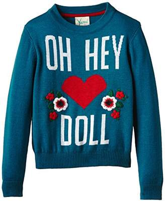 Yumi Girl's Oh Hey Doll Jumper,(Manufacturer Size:9-10 Years)