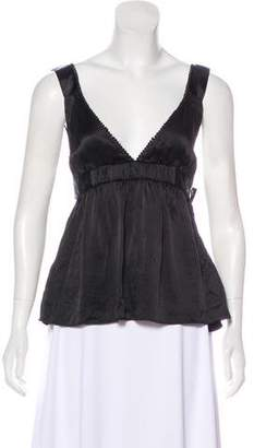 See by Chloe Silk Sleeveless Top