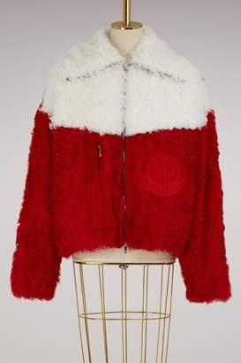 Moncler Julia wool bomber jacket