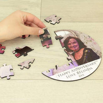 Dreams to Reality Design Ltd 24 Piece Anniversary Photo Puzzle With Message